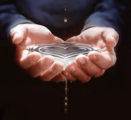 water-heart