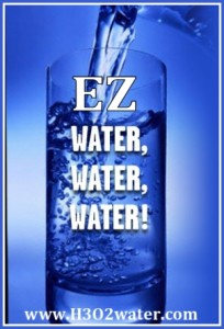 What is EZ Water? H3o2 water.