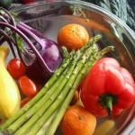 veggies cleaned by Biotite