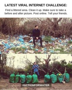 clean up plastics