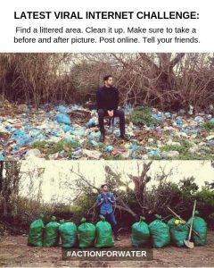 clean up plastics